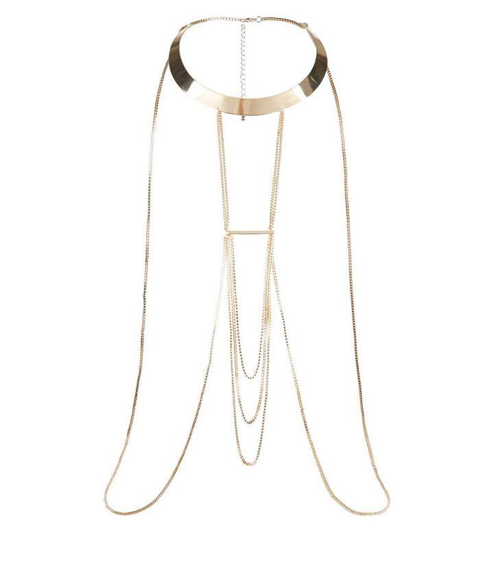 goldfarbene-gedrehte-korper-halskette